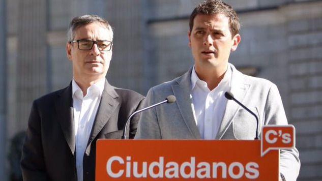 Ciudadanos considera que una candidatura de Sánchez es una 'vía muerta' y rechaza apoyarla