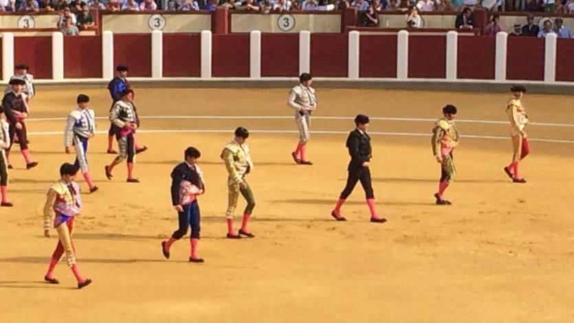 Paseíllo de las seis figuras en Valladolid