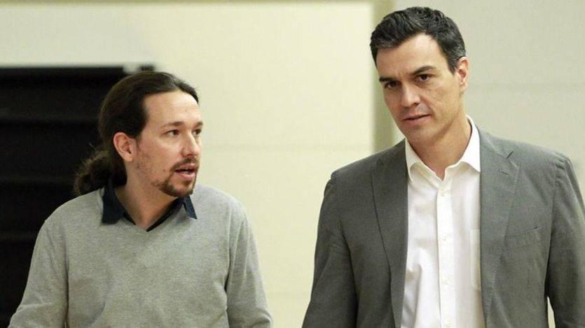Sánchez e Iglesias constatan sus diferencias sobre el rol político de Ciudadanos