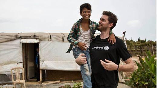 Pau Gasol relata de primera mano la terrible situación de los niños refugiados sirios
