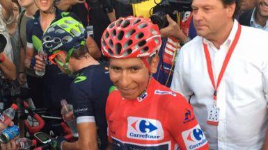 Quintana conquista su primera Vuelta y Nielsen su segunda etapa