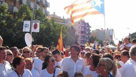 ¿A quién va dirigido el mensaje de Puigdemont?
