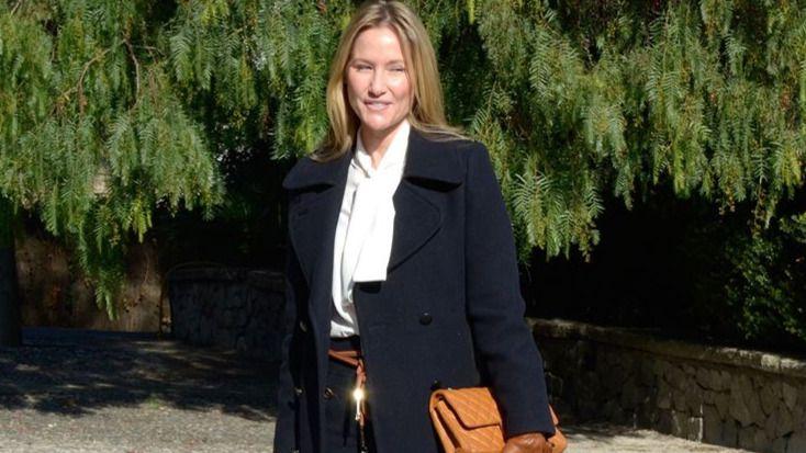 Fiona Ferrer, triste por el fallecimiento de su madre