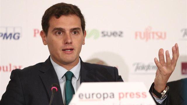 Rivera exige al PP que haga dimitir a Barberá si quiere el apoyo de Ciudadanos