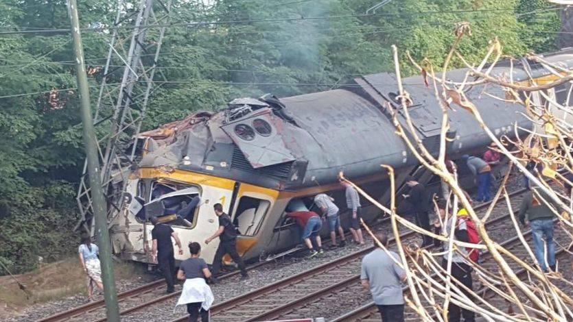 'Todo apunta a un exceso de velocidad' como causa del mortal accidente de tren en O Porriño