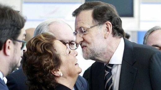 El PP espera hoy la renuncia de Rita Barberá, aunque no se descarta que se pase al grupo mixto para seguir aforada