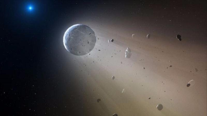 Espacio asteroide