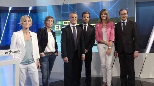 Zabala y Alonso, protagonistas del momento más tenso del debate vasco