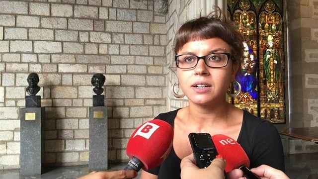 Maria Rovira, concejala de la CUP, víctima de una agresión sexual