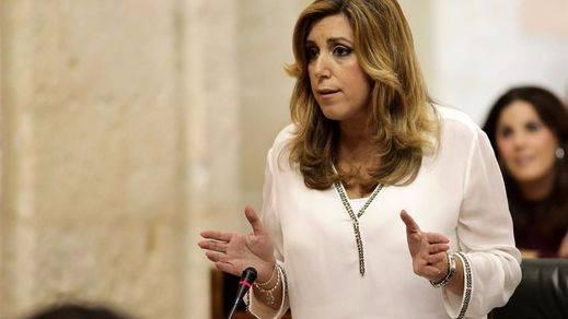 Susana Díaz sigue poniendo la mano en el fuego por Chaves y Griñán pese a las graves acusaciones de Anticorrupción