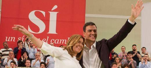 Susana Díaz sí habla con Sánchez, pero prefieren hacerlo en secreto