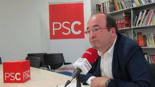 Iceta echa un cable a Sánchez: pide a ERC y el PDC que no pongan el referéndum como condición para intentar un nueva investidura