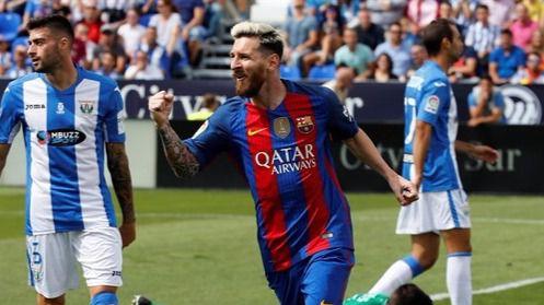 El Barça despeja dudas y da un baño de realidad al Leganés (1-5)