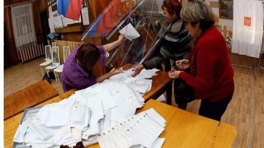 El partido de Putin gana las legislativas con más del 44,5 por ciento