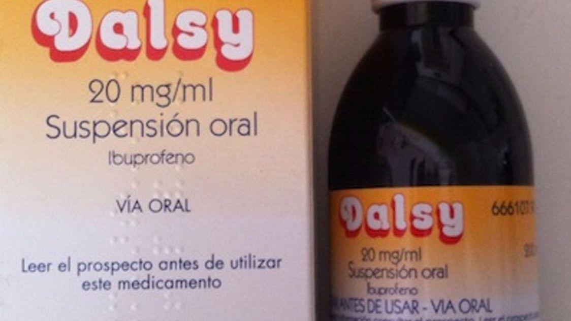 El medicamento infantil Dalsy estaría omitiendo ciertos