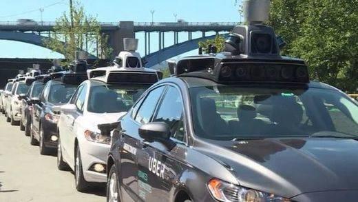 Vídeo: así probó Uber los coches sin conductor