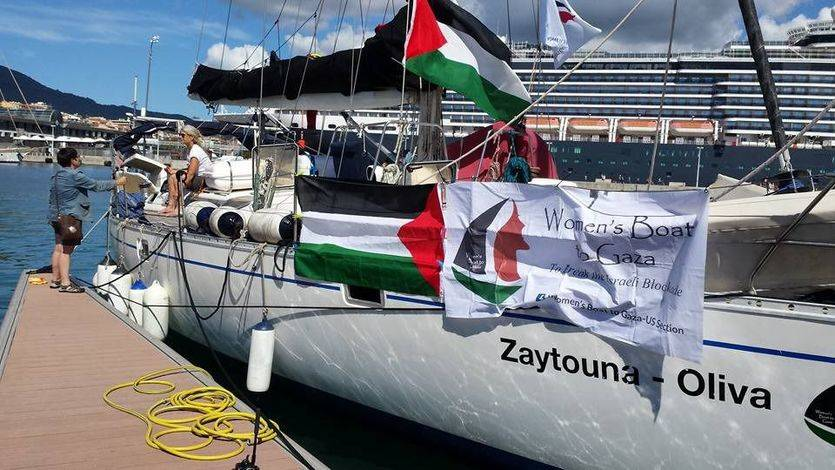 La Flotilla de la Libertad navega hacia su última parada entre mensajes de apoyo desde Gaza