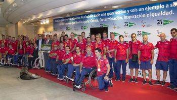 El Corte Inglés recibe al Equipo Paralímpico Español tras los éxitos cosechados en Río 2016