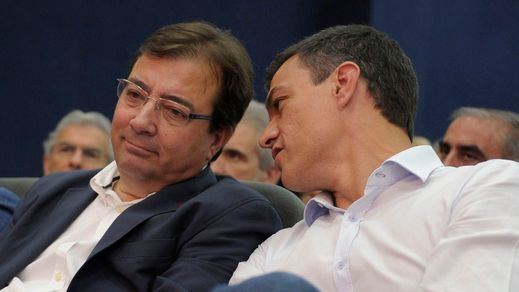 A Fernández Vara le salen rebeldes socialistas en Extremadura: quieren un pacto de gobierno con Podemos