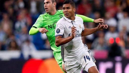 El Madrid defenderá el liderato sin Casemiro y Marcelo, lesionados para varios días/semanas