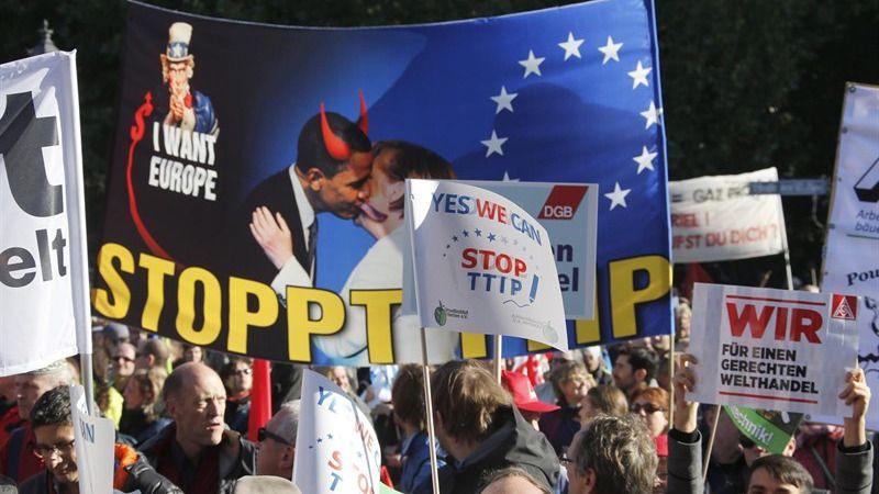 'Otoño en resistencia': manifestación estatal contra el TTIP y el CETA el 15-O