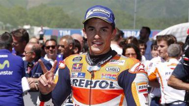 Márquez reina en Alcañiz y afianza su ventaja ante Lorenzo y Rossi