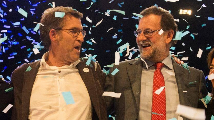 Las encuestas a pie de urna dejan al PP con nueva mayoría absoluta en Galicia