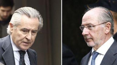 Hoy comienza el juicio por las tarjetas 'black': Blesa y Rato, recibidos con insutos y abucheos, se enfrentan a varios a�os de c�rcel