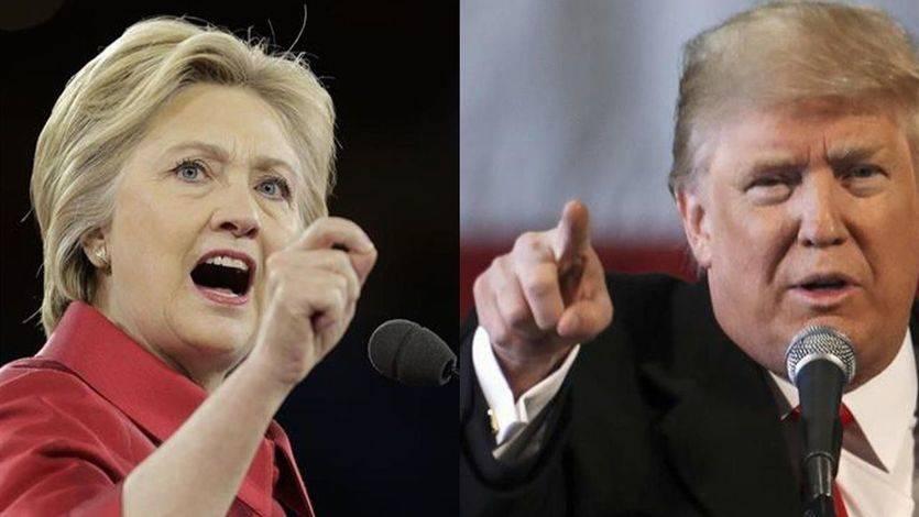 Llega el debate más esperado: Trump y Clinton se ven las caras