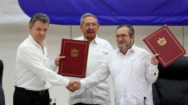 Gobierno colombiano y las FARC firman este lunes la tan ansiada paz
