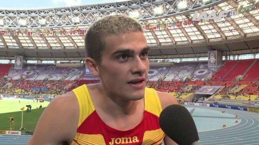 Optimismo por la recuperación de Bruno Hortelano tras su grave accidente y dos operaciones