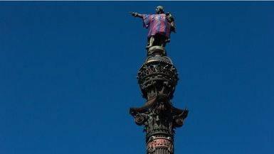 La �ltima de la CUP: exigen retirar la estatua de Col�n en Barcelona por esta raz�n...