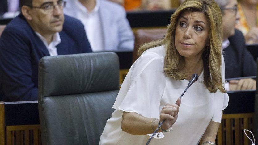 Susana Díaz: 'Estaré donde me pongan mis compañeros, en la cabeza o en la cola'