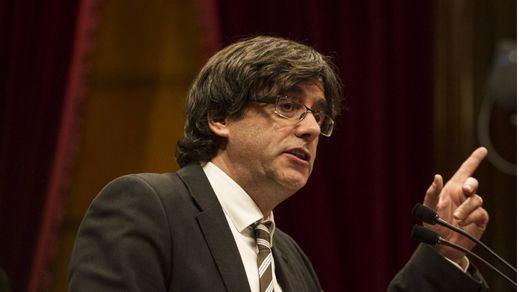 Puigdemont abre la puerta a una consulta unilateral de independencia en otoño de 2017: