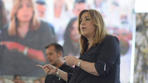 > Susana Díaz intenta tumbar a Sánchez con un golpe de mano en Ferraz