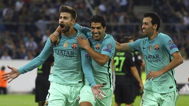 Champions: el Barça sufre pero sabe remontar ante un correoso Borussia (1-2)