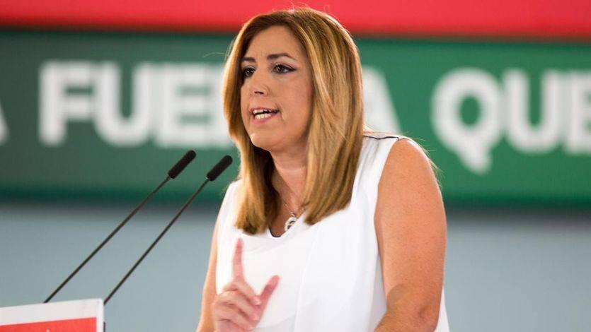 Una conciliadora Susana Díaz se apunta al congreso de Sánchez pero no desvela si se presentará ni le cuestiona