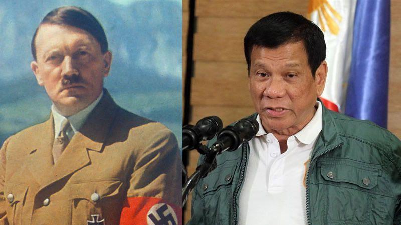 El presidente de Filipinas dice que quiere ser el nuevo Hitler y exterminar a los drogadictos: 'Me haría feliz poder matarlos'