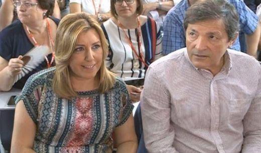 >> Javier Fernández firma y Susana Díaz dispone: la baronesa andaluza controla la mayoría de la gestora