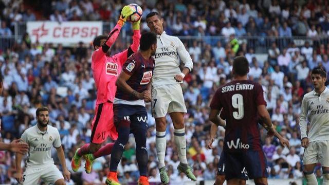 El Eibar prolonga la mala racha del Real Madrid (1-1)