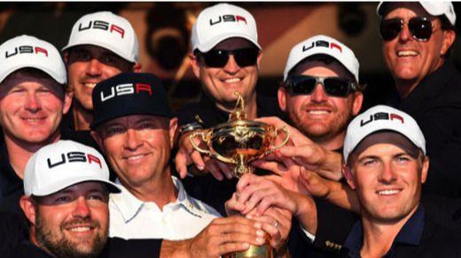 Europa 'devuelve' la Ryder Cup vuelve a Estados Unidos ocho años después