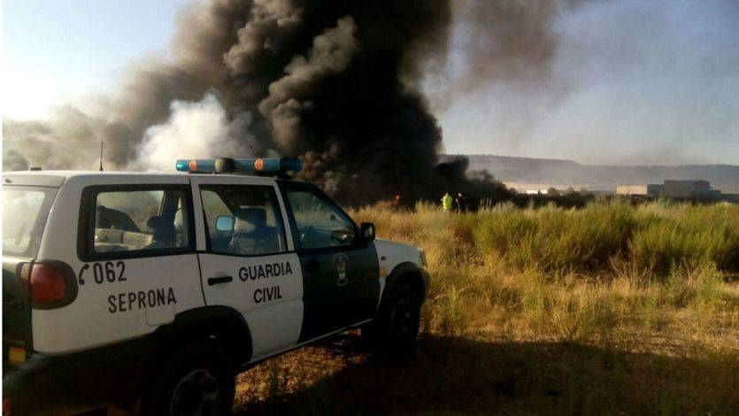 Convocada una manifestación el 15 de octubre en Guadalajara para pedir responsabilidades por los incendios en Chiloeches