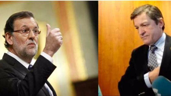 El PP mueve ficha tras el 'aquelarre' socialista: Rajoy llama a Javier Fernández sin descartar una cita