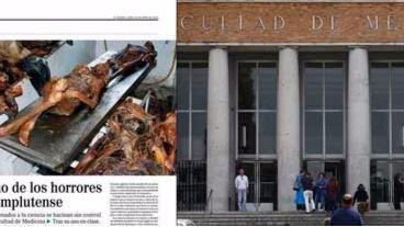 La dirección del departamento de Anatomía Humana culpa a los trabajadores del escándalo de los cadáveres en la Complutense