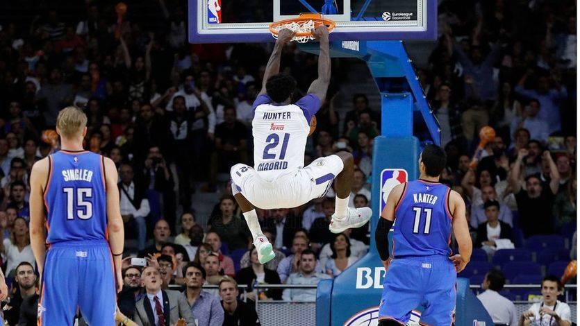 La ÑBA del Real Madrid logra la hazaña de derrotar a la NBA de los Thunder