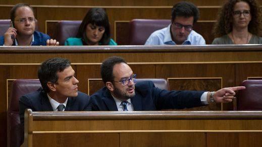 Cambios del PSOE en el Congreso: Sánchez se muda de escaño, pero no a la sombra de Madina