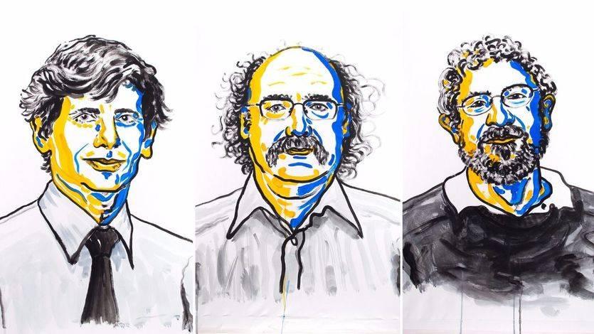 Físicos ganadores del Nobel 2016