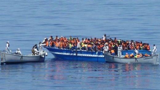 Un drama desproporcionado: Italia rescata a más de 6.000 inmigrantes en el mar en 24h