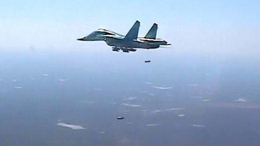 Aviones militares rusos de última generación llegaron hasta Bilbao en una clara provocación a Europa