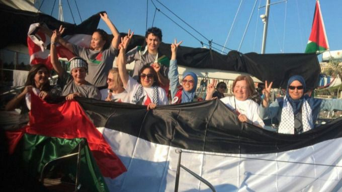 Exteriores no garantiza 'la libre navegación' del velero de 'Mujeres Rumbo a Gaza' ante un posible ataque israelí